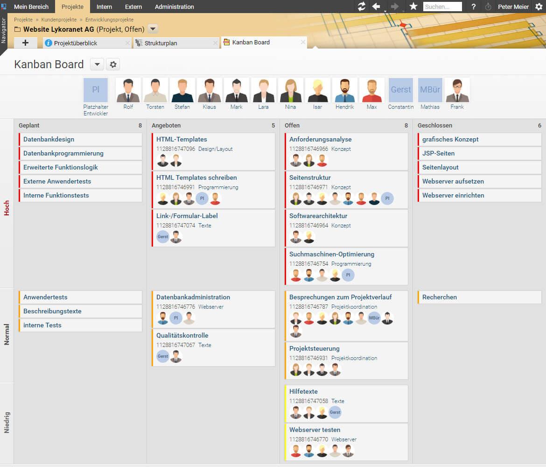 Projektron BCS 7.40 - Projektmanagement-Software Projektron BCS
